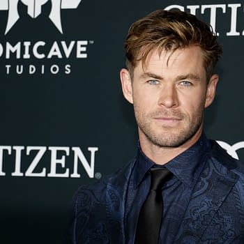 Chris Hemsworth at the World premiere of 'Avengers: Endgame' held at the LA Convention Center in Los Angeles, USA on April 22, 2019. Editorial credit: Tinseltown / Shutterstock.com