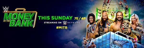 Money in the Bank 2020 a lieu ce dimanche soir, grâce à la WWE.