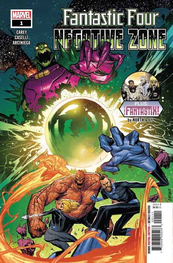 Fantastic Four: Negative Zone #1 [Preview]