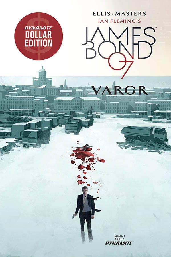 Dynamite Publishes Warren Ellis James Bond Omnibus in February