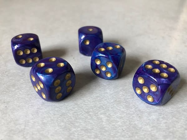 Acquiring a New Set of Dice from Chessex via PAX East