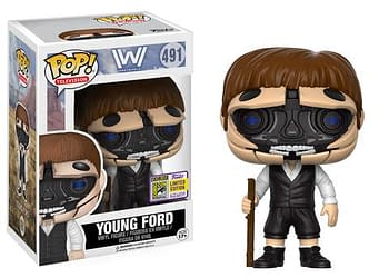 SDCC Funko Westworld Robotic Youn Dr. Ford Host