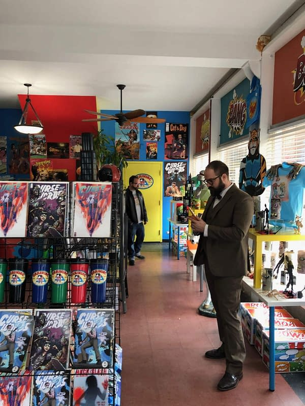 When Fox's Proven Innocent Goes to a Chicago Comic Shop…