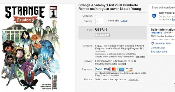 Strange Academy #1 Gets a Second Printing