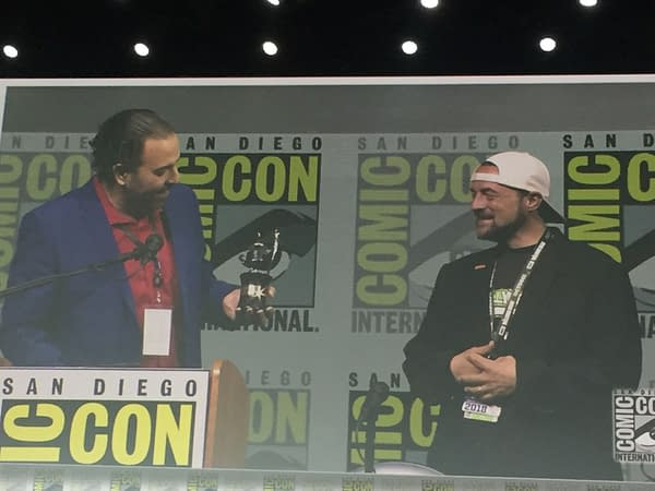 Kevin Smith at SDCC: He Wasn't Even Supposed to Be Here Today