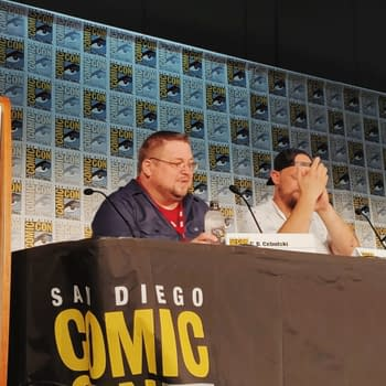 C.B. Cebulski the Man Behind Marvel Shares His Origin Story at SDCC with Skottie Young