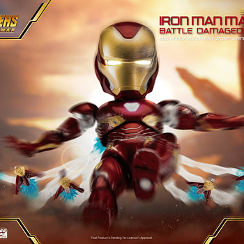 Beast Kingdom Egg Action Attack Iron Man from Avengers: Infinity War Figure