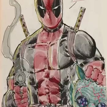 Rob Liefeld Gives Maklunkey to Deadpool&#8230