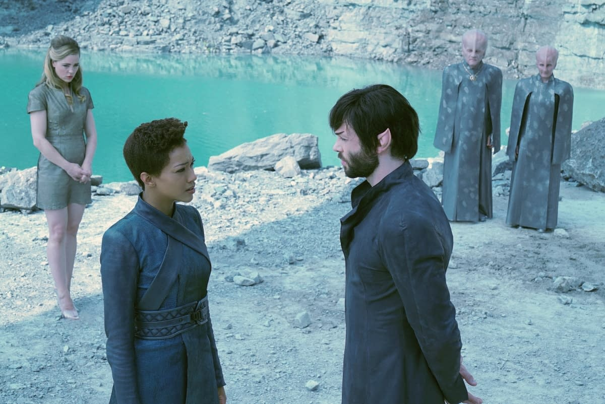 "'Star Trek: Discovery' Season 2, Episode 9 ""Project Daedalus"": A Personal and Professional Minefield [PREVIEW]"
