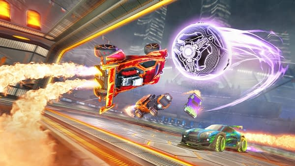 The new Heatseeker Mode comes to Rocket League on April 16th, courtesy of Psyonix.