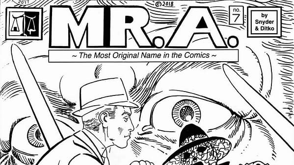 Steve Ditko's Mr. A.
