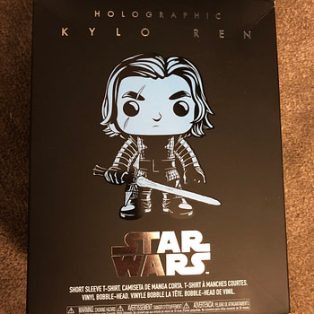 Holographic Kylo Ren Pop Exclusive Target