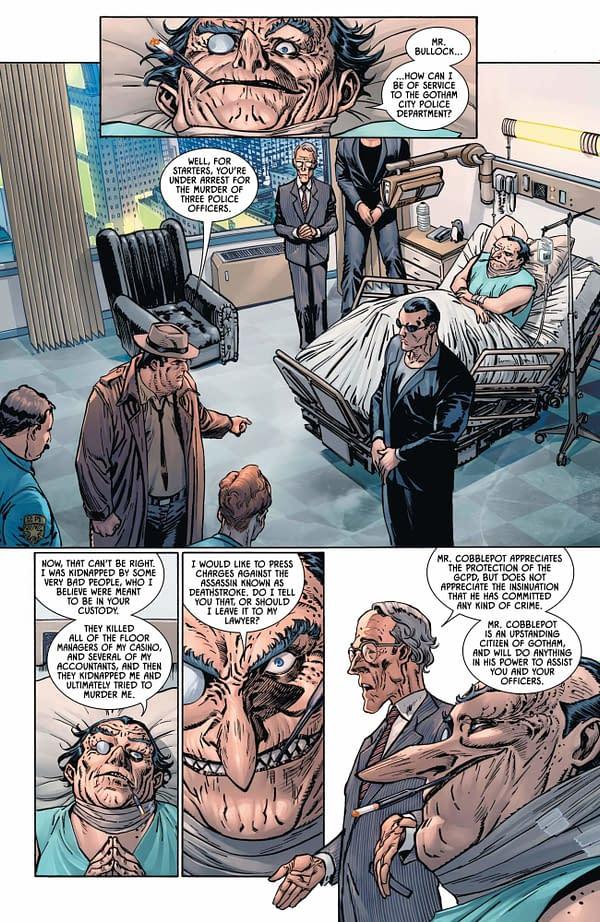 How Batman #92 Puts Gotham City on Lockdown From DC Comics This Week.