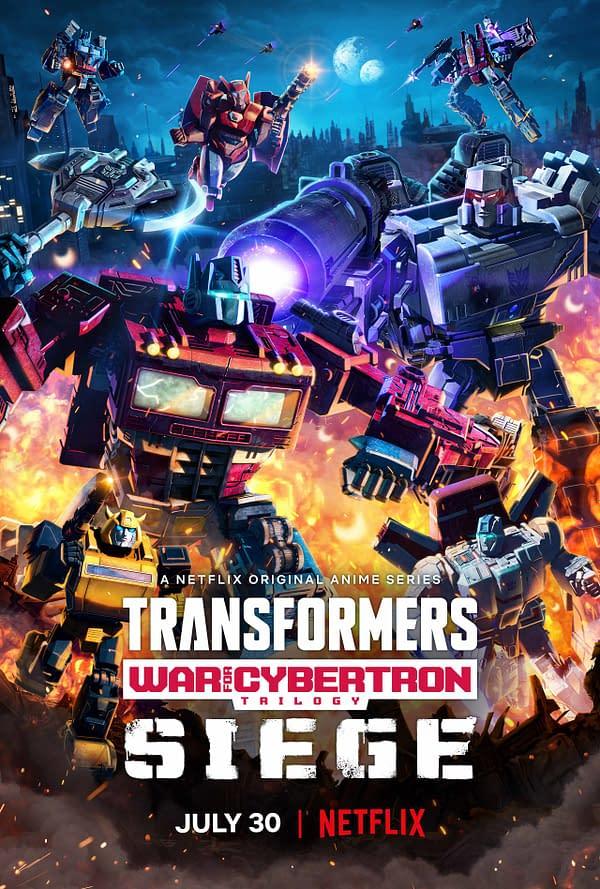 Transformers: War For Cybertron Trilogy: Siege Final Trailer Released