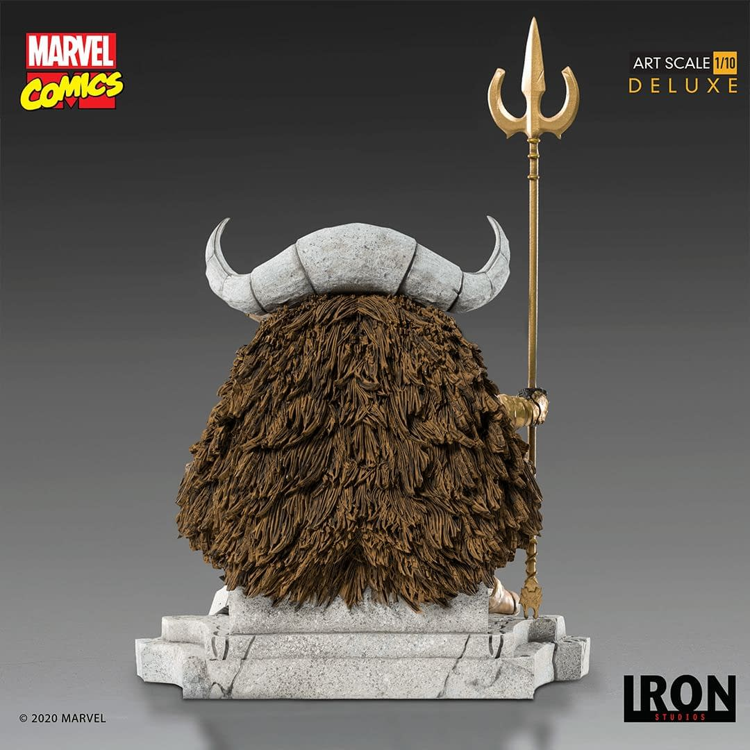 Odin Welcomes You to Asgard with New Iron Studios Statue