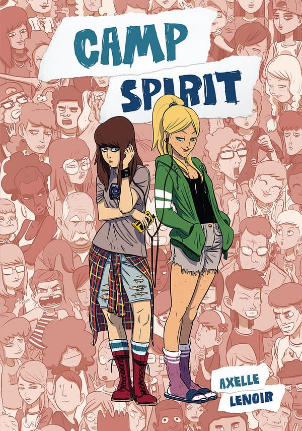 The cover of Camp Spirit published by IDW Publishing.