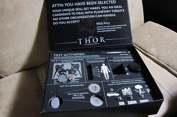 Thor Press Kit Causes Terrorist Alert