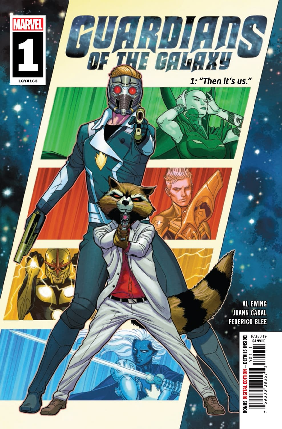 """REVIEW: Guardians Of The Galaxy #1 -- """"There's An Idiotic Kind Of Glee To This"""""""