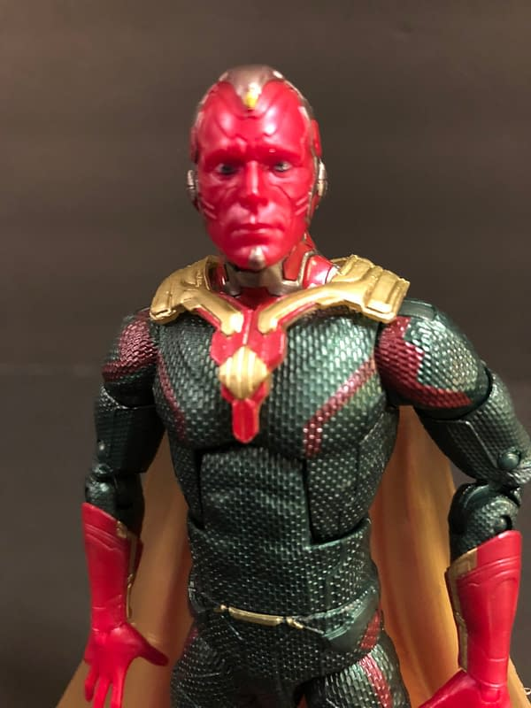 Let's Take a Look at the Marvel Legends MCU Vision and Scarlet Witch Two-Pack