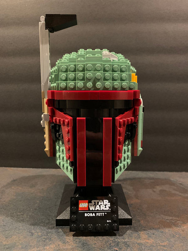 Collection de casques LEGO Star Wars 7