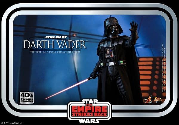 Hot Toys Empire Strikes Back Darth Vader Throwback Figure