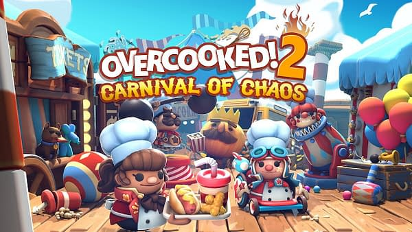 """The Next """"Overcooked! 2"""" DLC Heads To The Carnival of Chaos"""