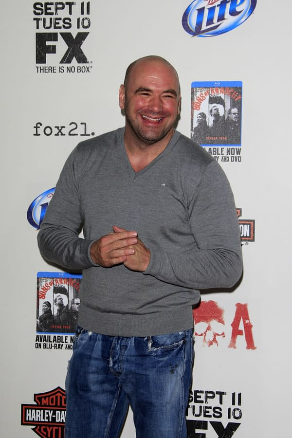 Dana White is restarting UFC events with empty venues. Kathy Hutchins / Shutterstock.com
