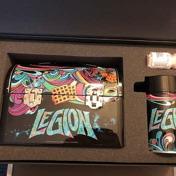 FX Fearless Legion Box Unboxing SDCC 2019 & Bill Sienkiewicz Signs
