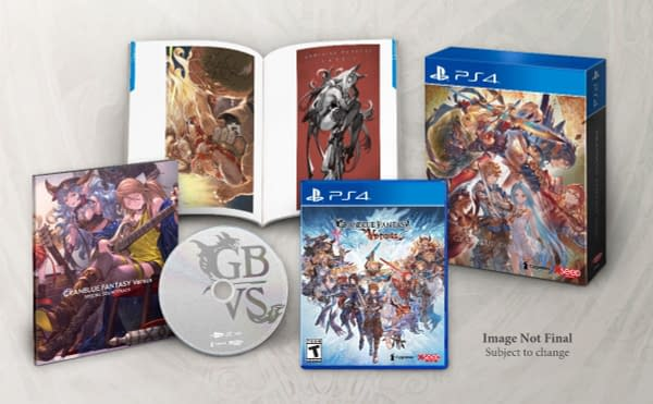"""XSEED Shows Off """"Granblue Fantasy: Versus"""" Special Editions"""
