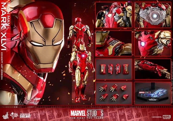 Hot Toys MCU 10th Anniversary Concept Iron Man 14