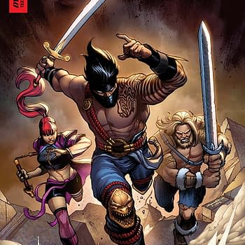 Writers Commentary: Ian Edginton on Killer Instinct #6