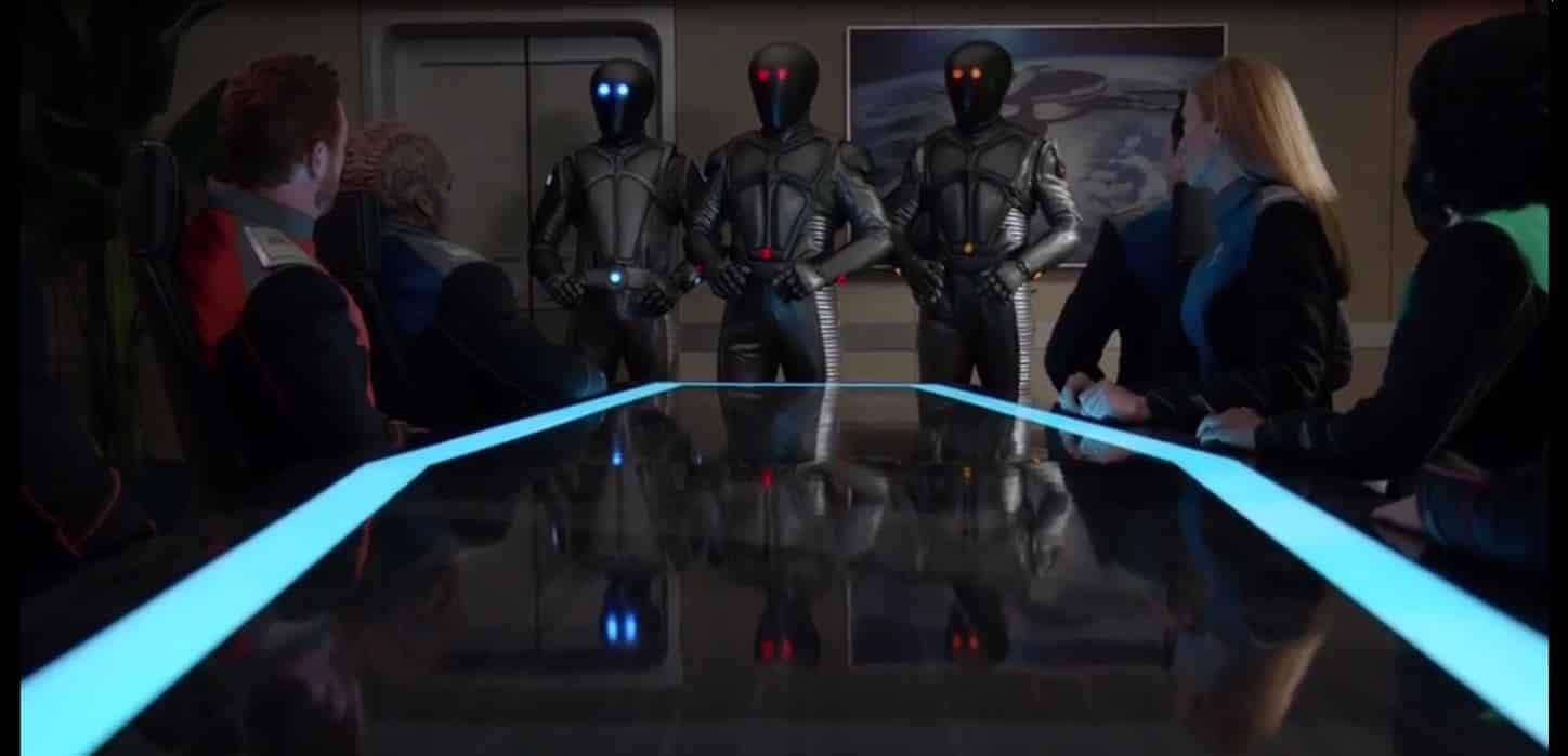 Orville - Kaylons and Orville Crew s02e09