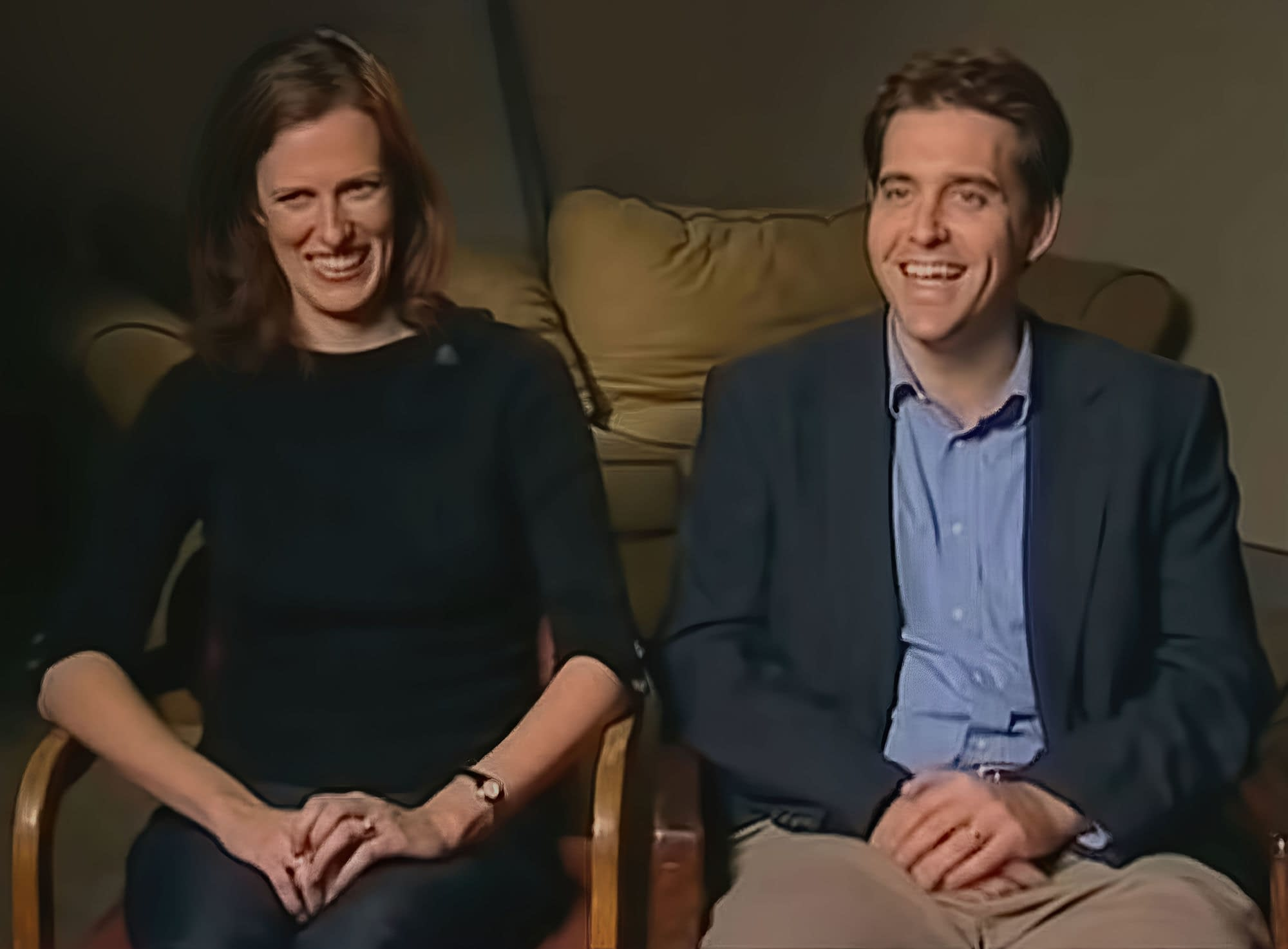 Jon Doris and Dolly Klock, inspirations for the characters JD and Elliot on Scrubs