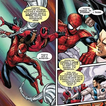 Deadpool Tries to Join an MCU Franchise in Next Weeks Spider-Man/Deadpool #43