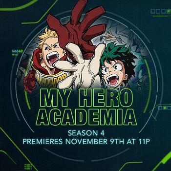 My Hero Academia Season 4 Coming to Toonami November 9th