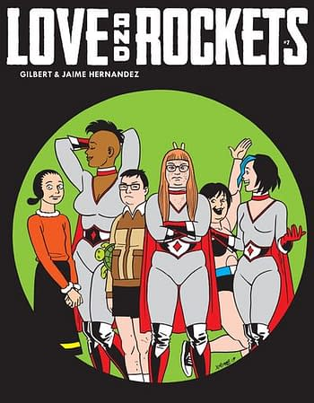 Love And Rockets And More Debuting From Fantagraphics at San Diego Comic-Con