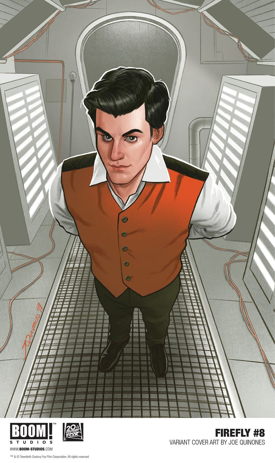 Forget About Fireworks, Firebronies, Here's a First Look at Firefly #8 for July Fourth