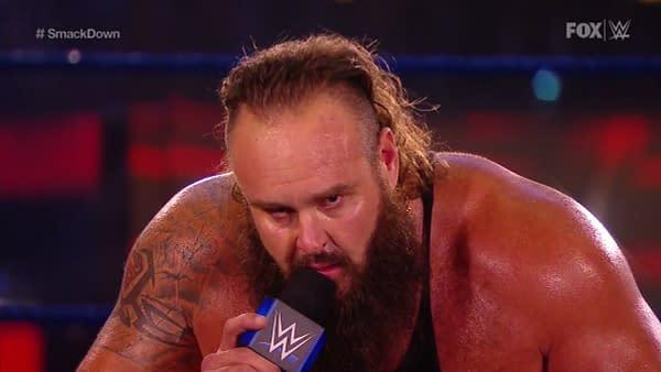 Braun Strowman gets creepy on WWE Smackdown