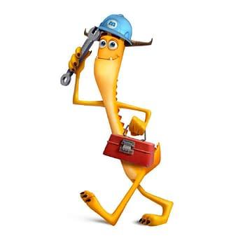 Monsters at Work: Ben Feldman Introduces Tylor Tuskmon Eager &#038 Talented Mechanic