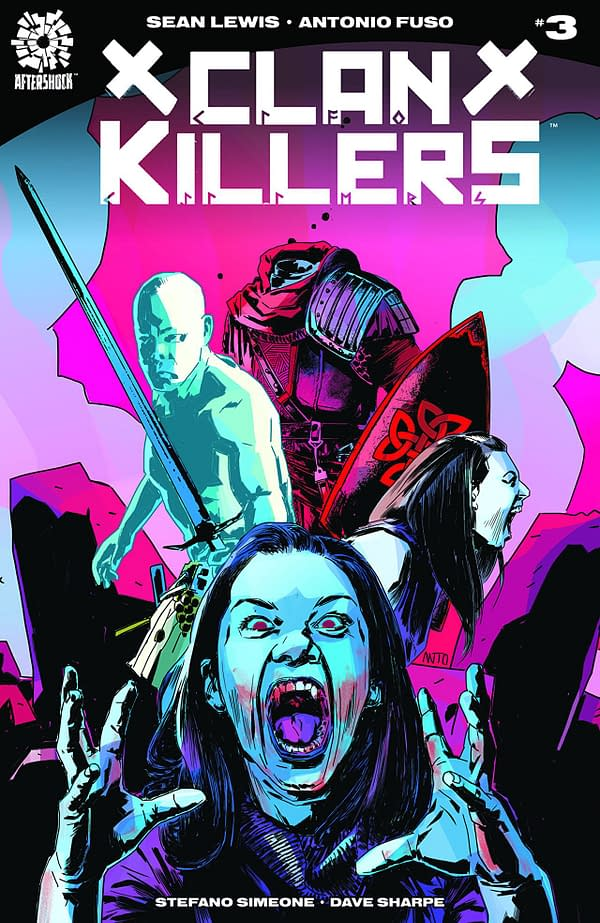 Clankillers #3 cover by Antonio Fuso