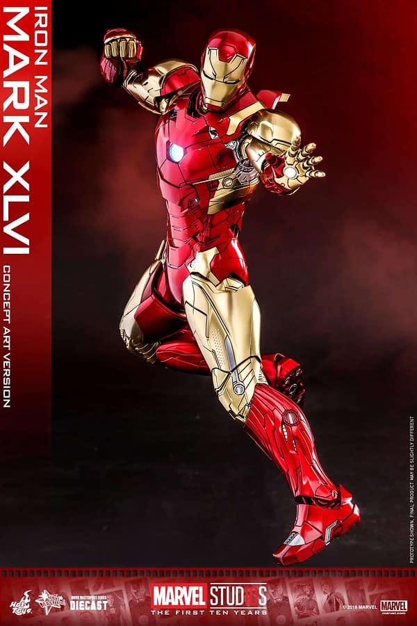 Hot Toys MCU 10th Anniversary Concept Iron Man 7