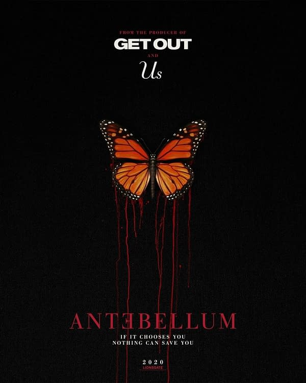 Affiche antebellum. Credit Lionsgate