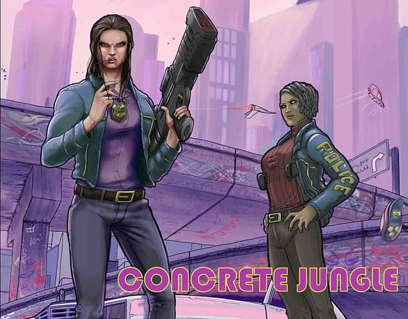 Concrete Jungle coming this October. Credit: Scout Comics