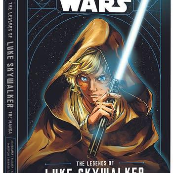 """Star Wars: The Legends of Luke Skywalker"": Viz Releases Manga Adaption of Ken Liu's Book This Week!"