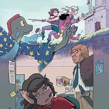Modern Fantasy #1 cover by Kristen Gudsnuk