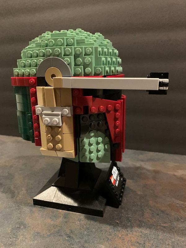 Collection de casques LEGO Star Wars 9