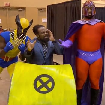 House of Positivity: WWE's The New Day Cosplay as the X-Men at Big Easy Con