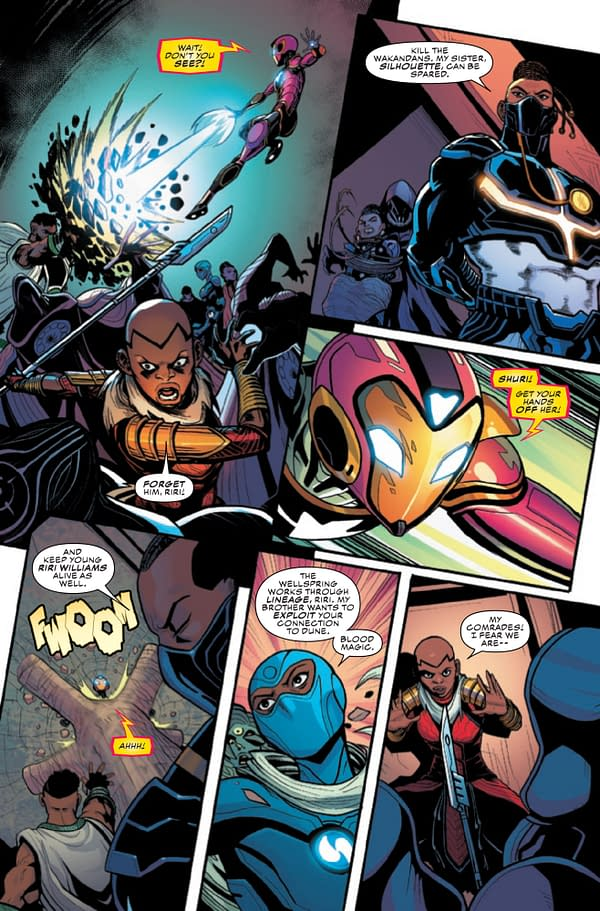 Ironheart #12 [Preview]