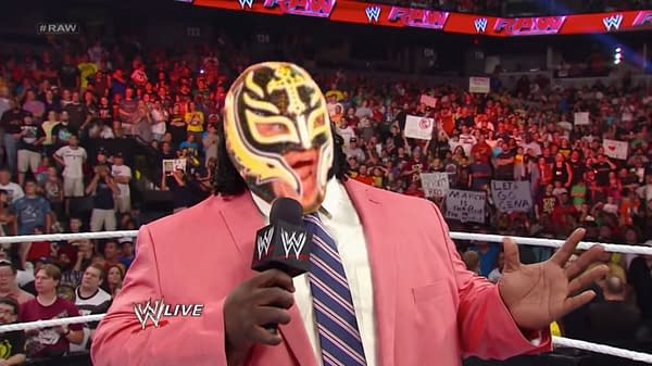 """Rey Mysterio is set to announce his """"retirement"""" on WWE Raw next Monday."""