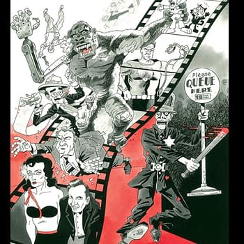 Alan Moore and Kevin ONeills Cinema Purgatorio In Comic Stores For April